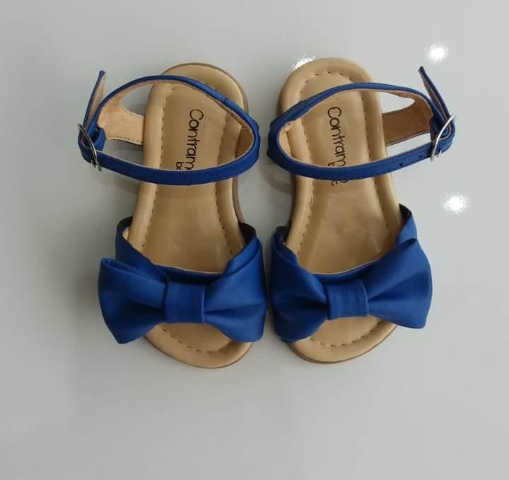 Sandália Contramão azul bic