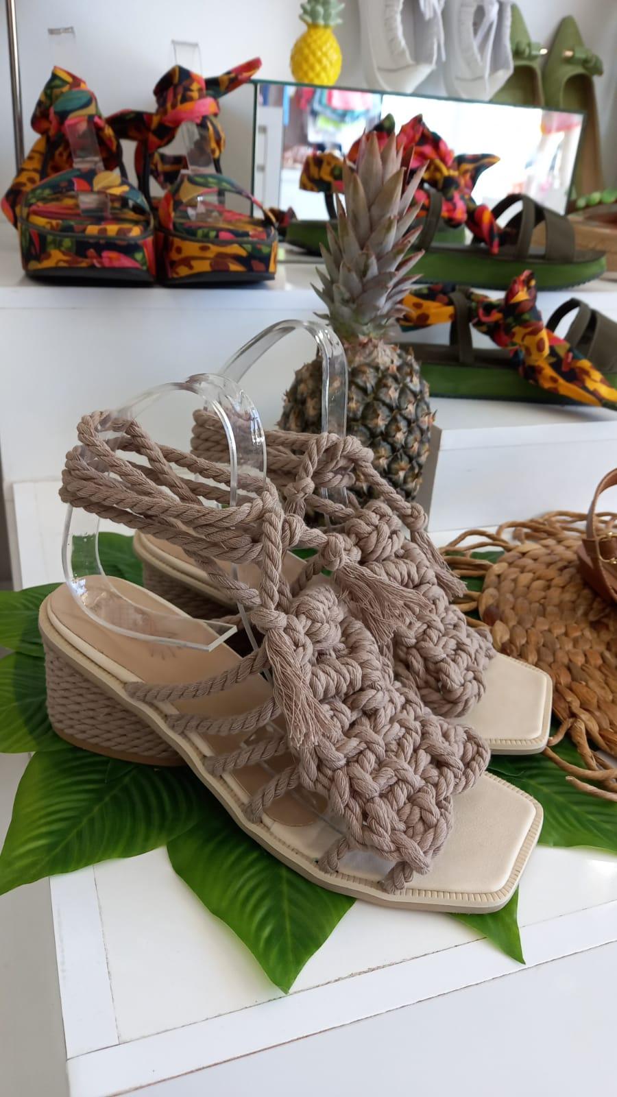 Sandália corda FARM