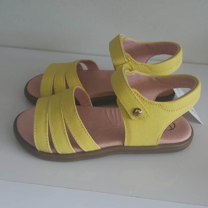 Sandália Gambo amarela