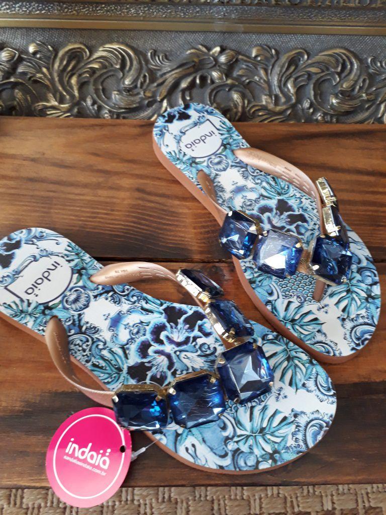 Sandália INDAIÁ azul