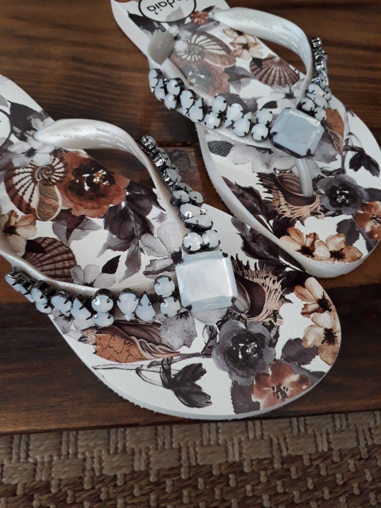 Sandália INDAIÁ floral