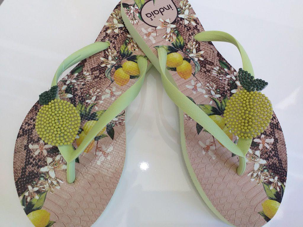 Sandália INDÁIA limão