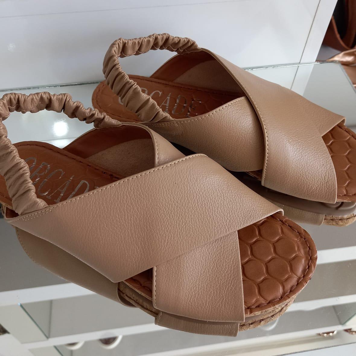 Sandália ORCADE confort nude