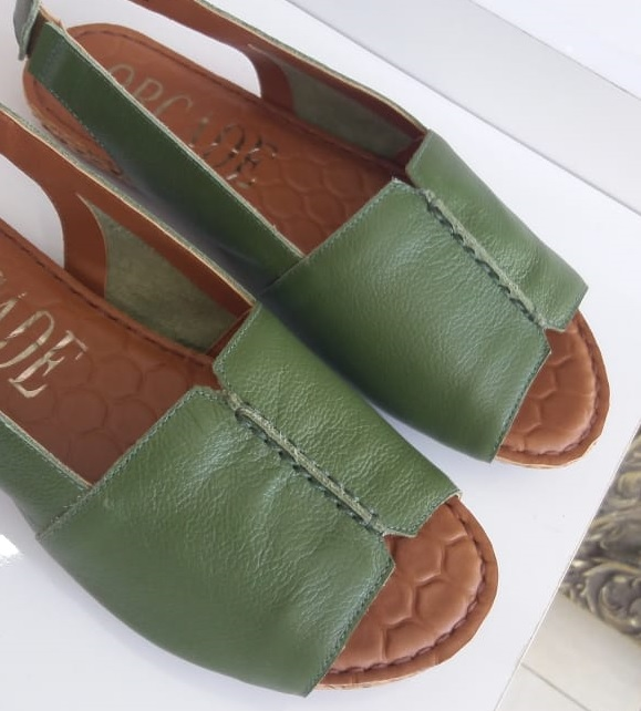 Sandália ORCADE verde militar