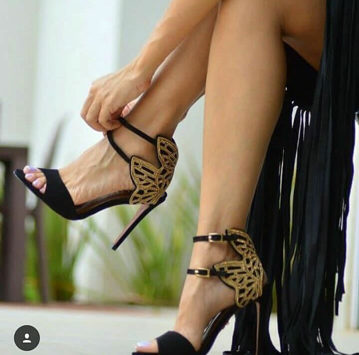 Sandália preta CARRANO