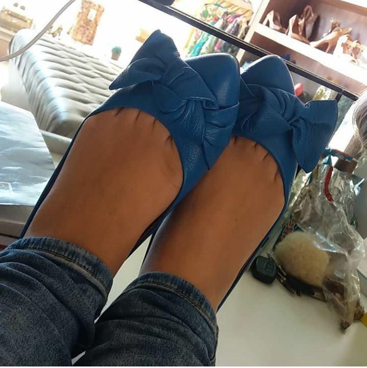 Sapatilha azul CARRANO