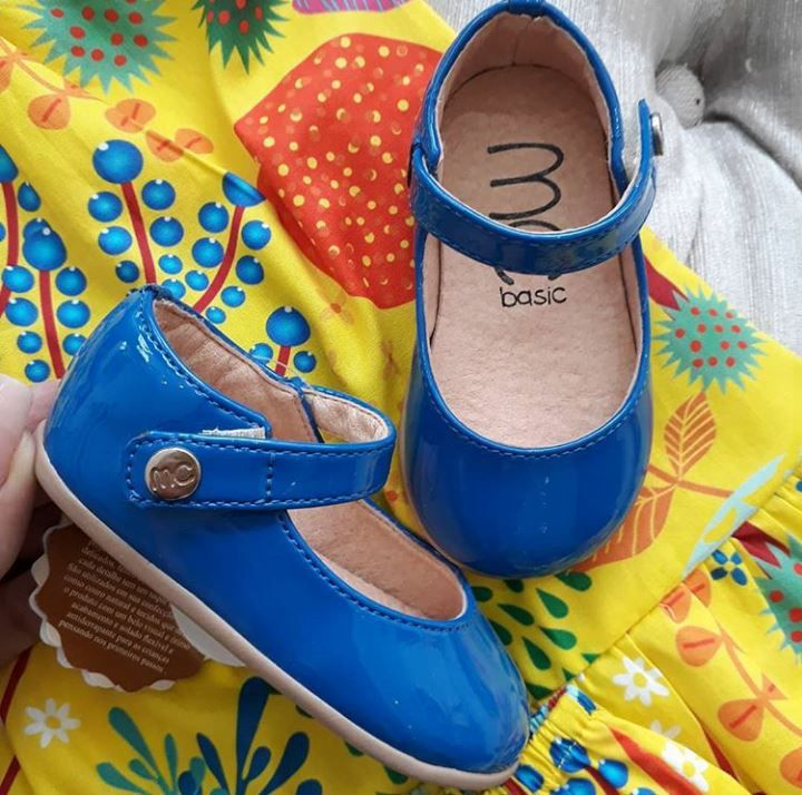 Sapatilha azul MARIA CARAMELO