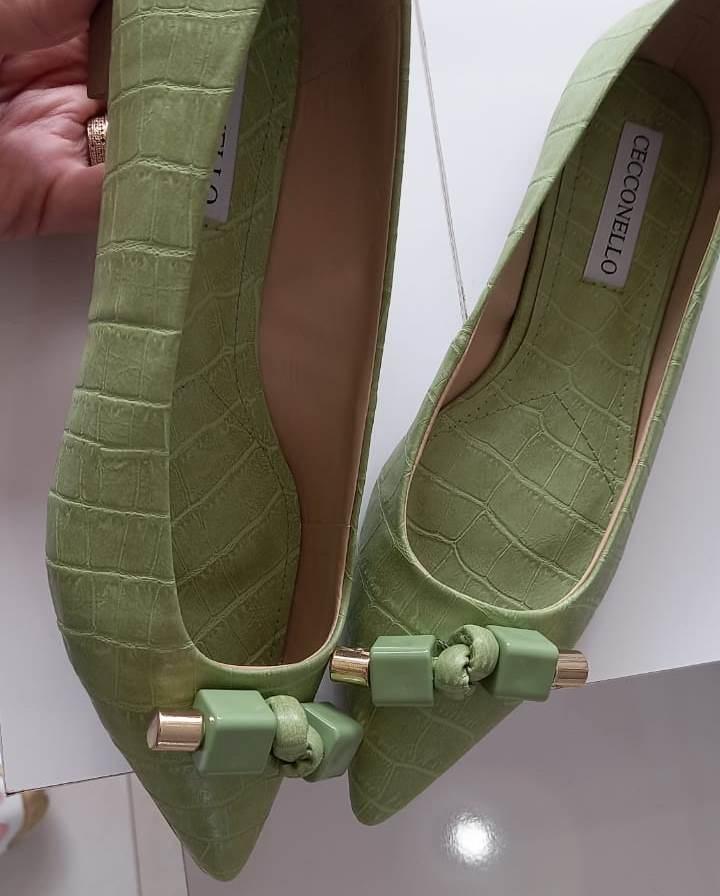 Sapatilha CECCONELLO verde