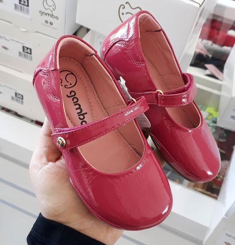 Sapatilha pink GAMBO