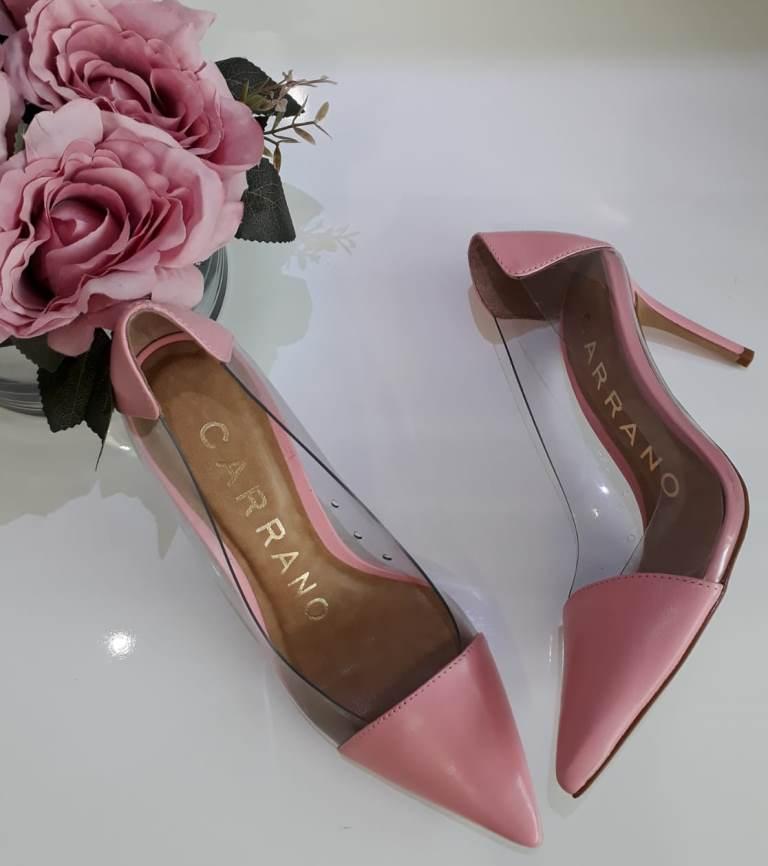 Scarpin rosa bb CARRANO