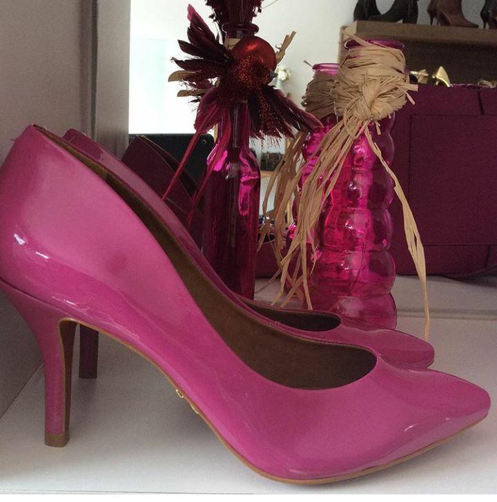 Scarpin rosa CARRANO