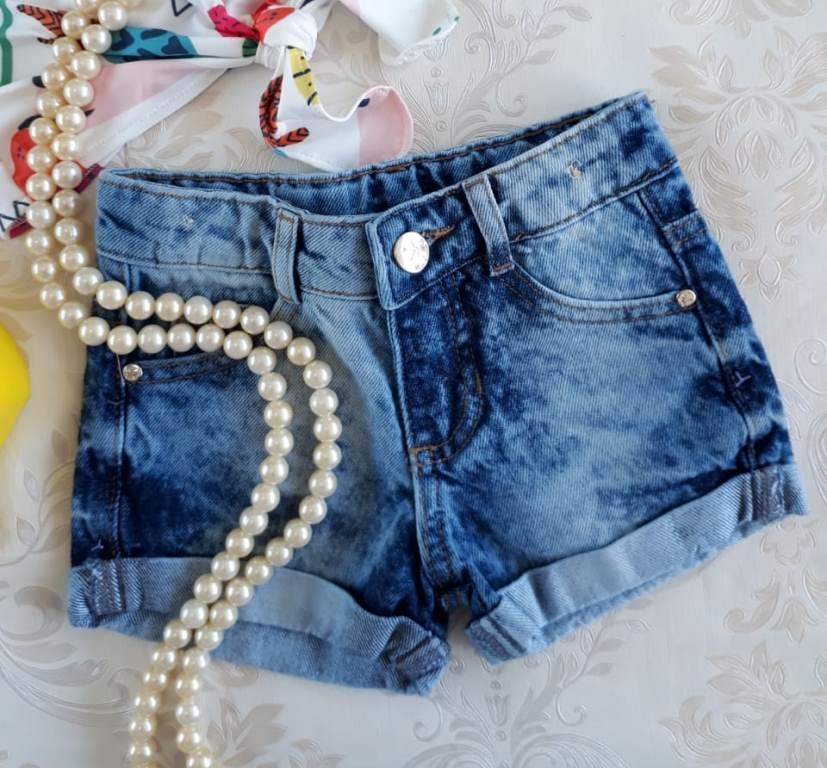 Short jeans bolso coelhinho MON SUCRÉ