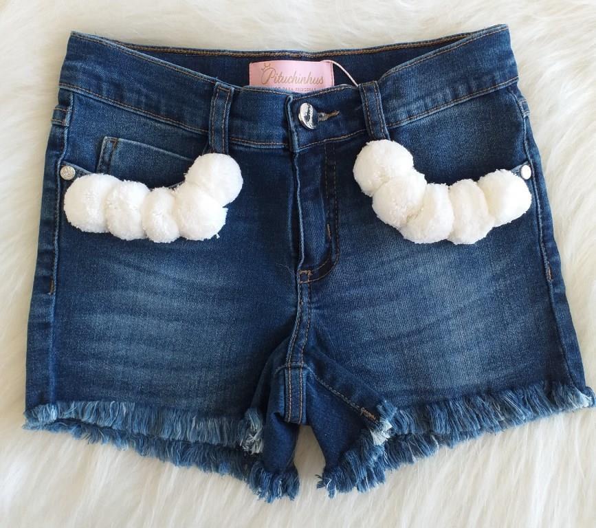 Short jeans PITUCHINHUS