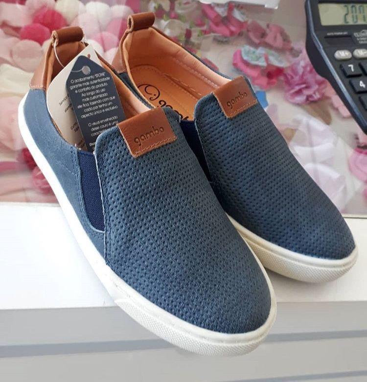 Slip azul jeans GAMBO