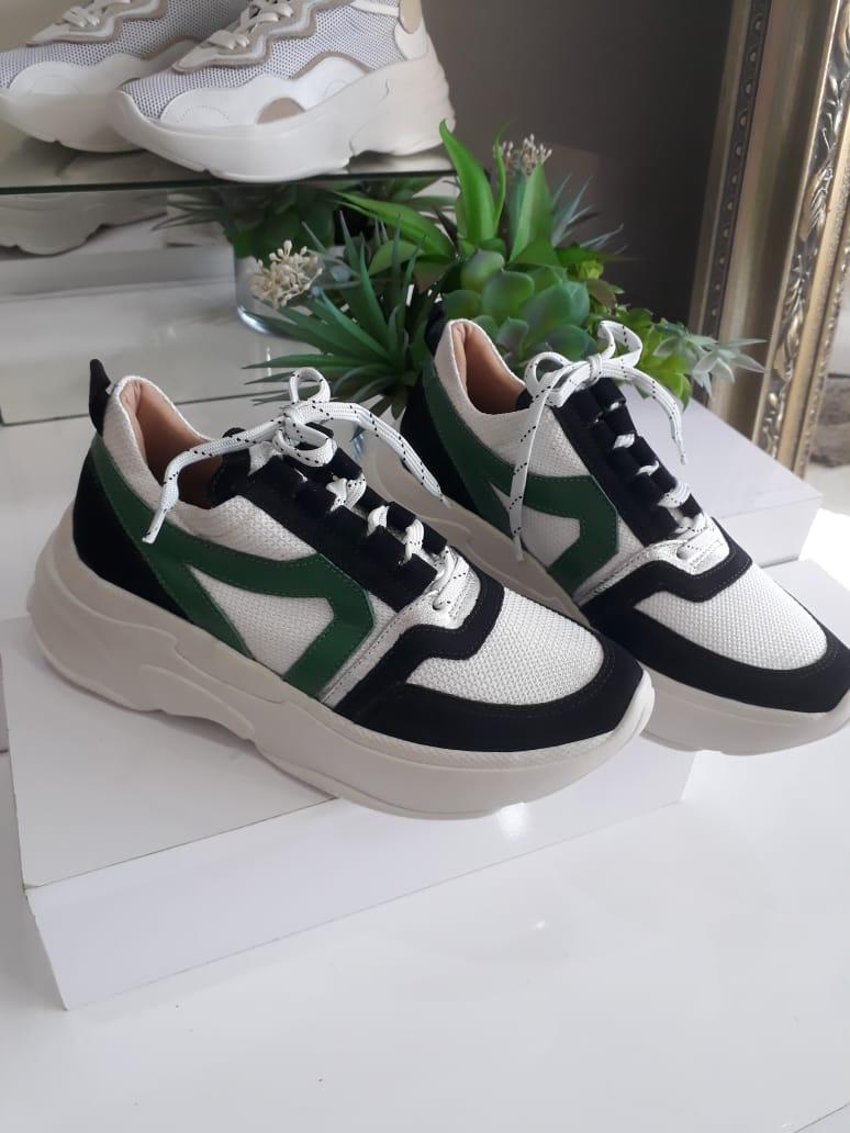 Tênis preto/verde SMIDT