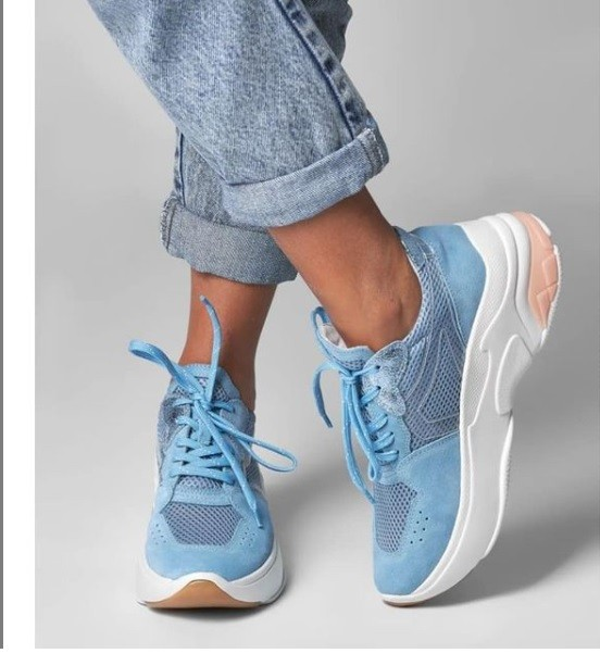 Tênis Sneaker azul céu SMIDT