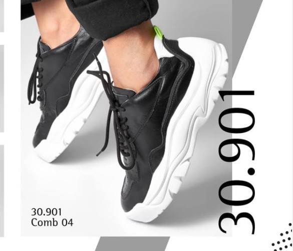Tênis Sneaker preto SMIDT