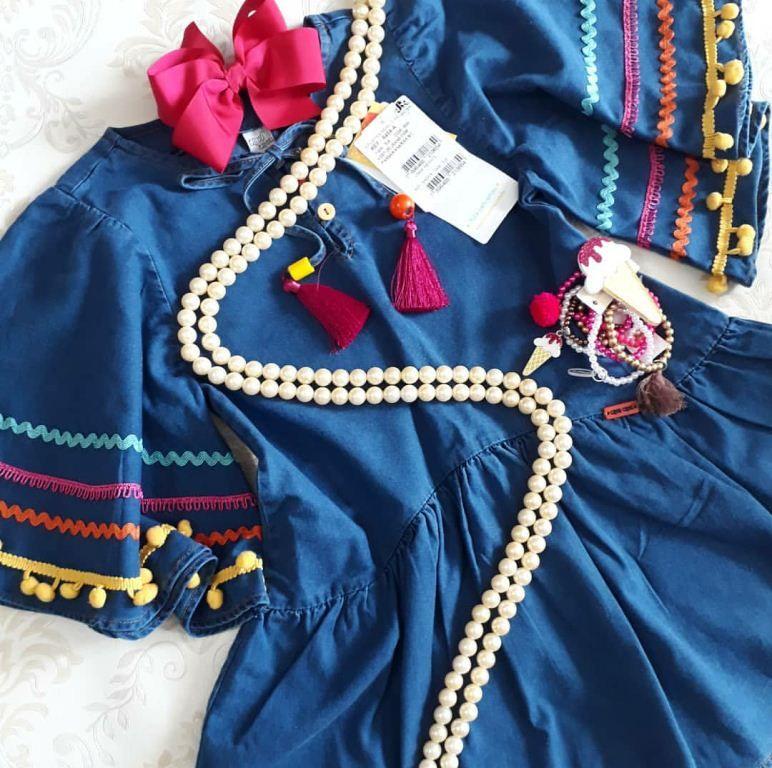 Vestido  CAMU CAMU jeans passamanarias MC