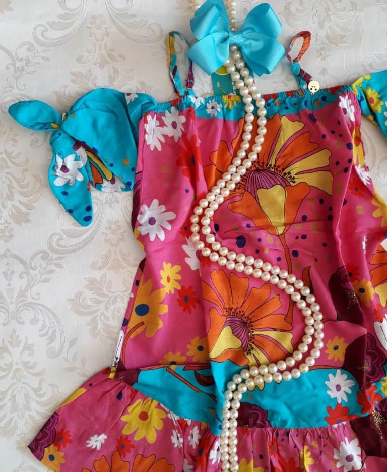 Vestido estampa primavera PRECOCE