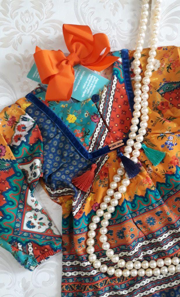Vestido estampa vintage CAMU CAMU