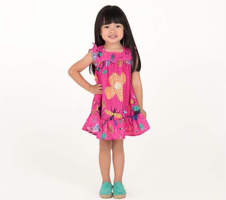 e7e1234382 Vestido Mon Sucré pink floral - LUANA CRIS SHOES BABY   KIDS