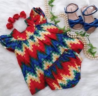 Vestido BB Pixel Precoce
