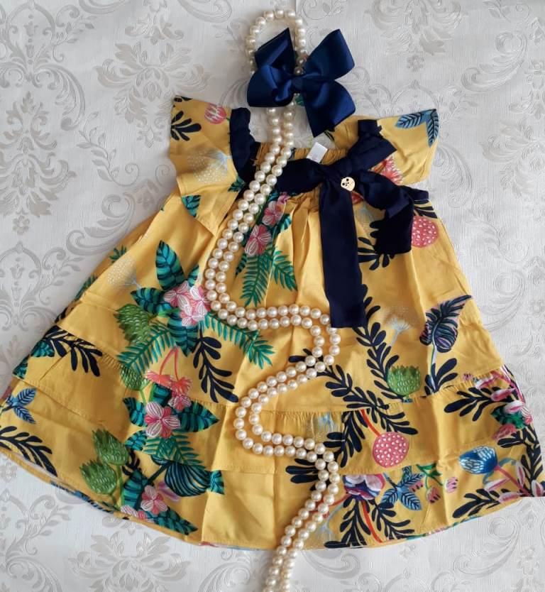 Vestido PRECOCE ramalhete