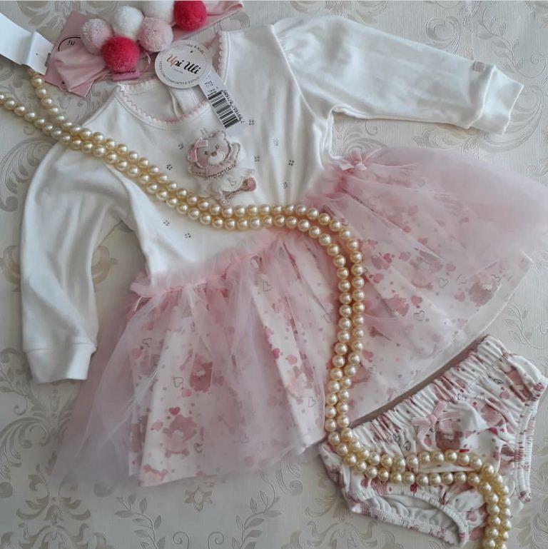 Vestido UPI ULI bailarina rosa
