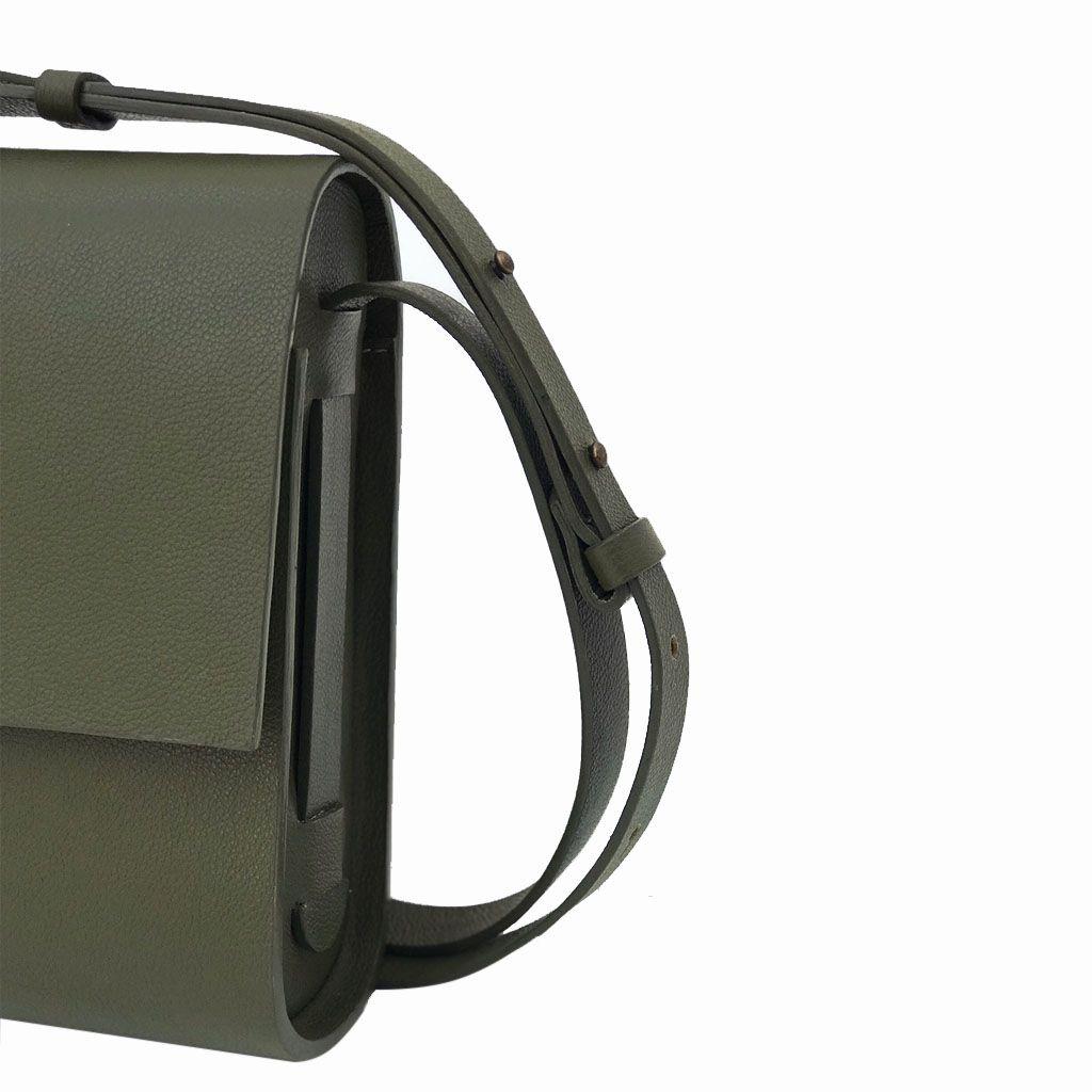Bolsa câmera verde