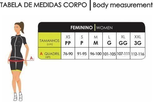 BERMUDA CICLISMO CARBON 2.0 - FEMININO - MAURO RIBEIRO