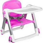 Cadeira De Alimentação Portátil Alumínio Rosa Clingo - 2201