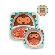 Conjunto De Pratos Zoo Porco Espinho Skip Hop 252219