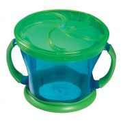 Porta Biscoitinhos Verde / Azul - Munchkin