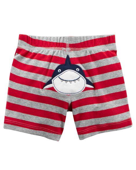 Conjunto Com 2 Peças Regata / Shorts  Tubarão - Carter's