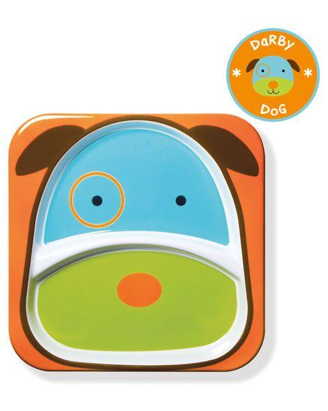 Conjunto De Pratos Zoo Cachorro Skip Hop 252210