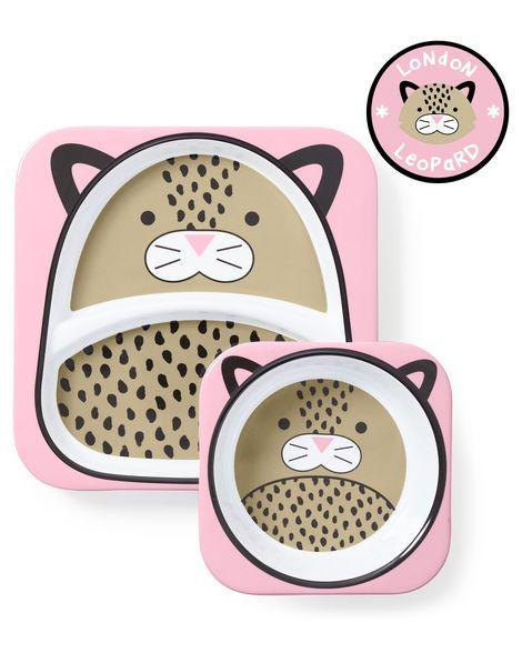 Conjunto De Pratos Zoo Leoparda Skip Hop 252224