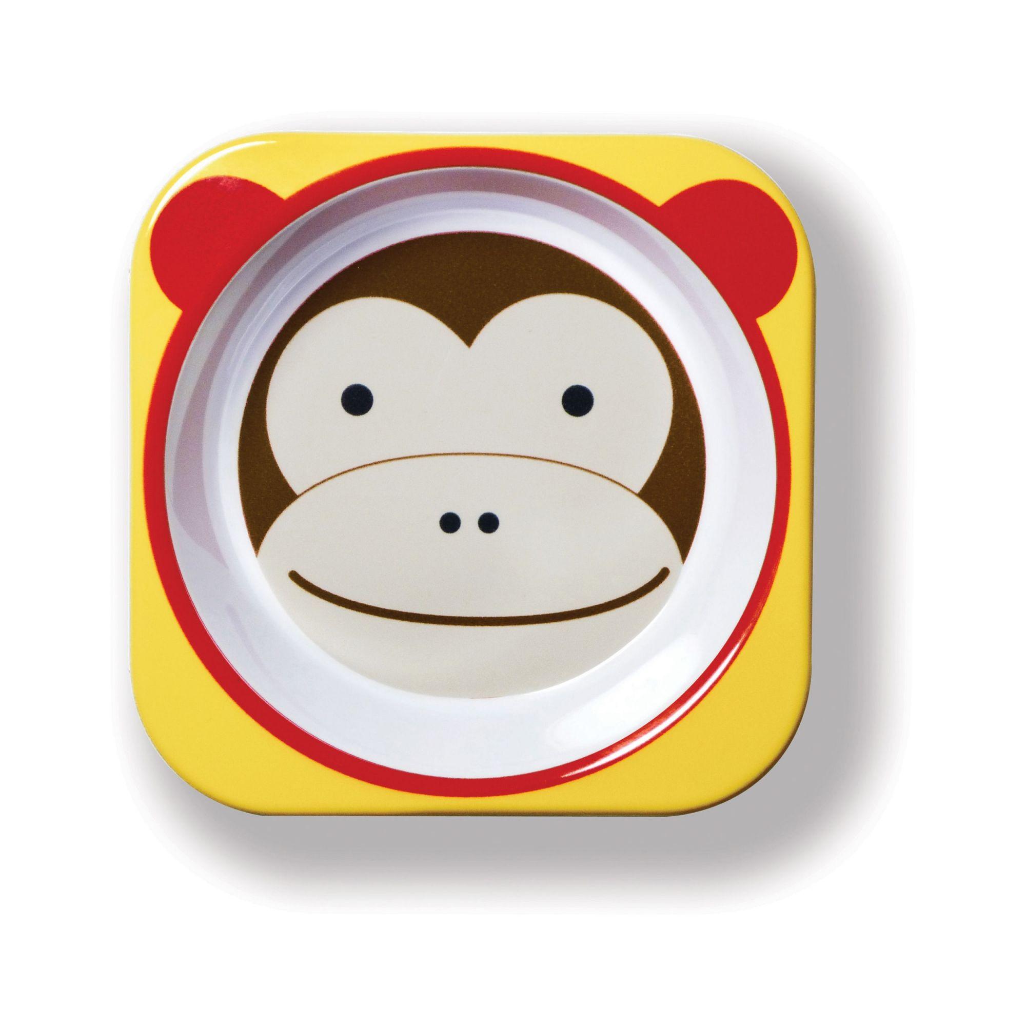 Conjunto De Pratos Zoo macaco Skip Hop 252202