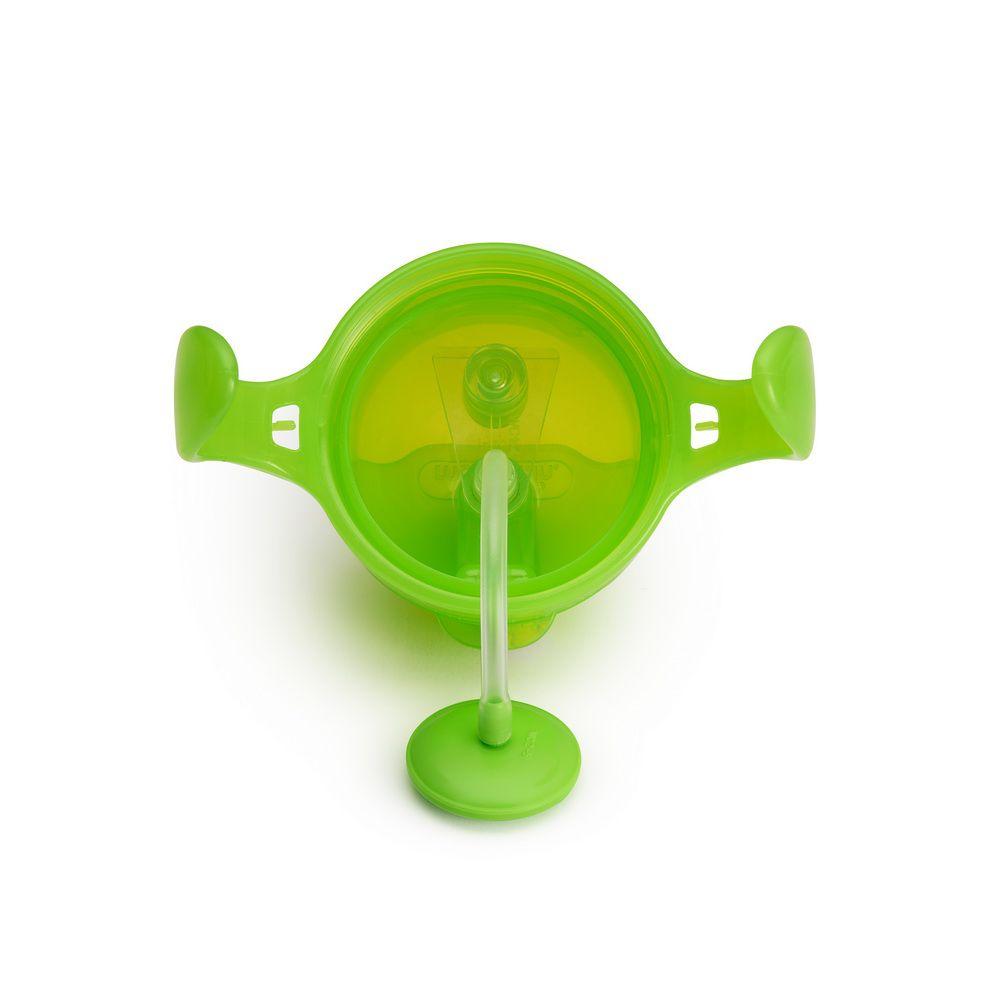 Copo de Treinamento Com Canudo Click Lock Verde - Munchkin