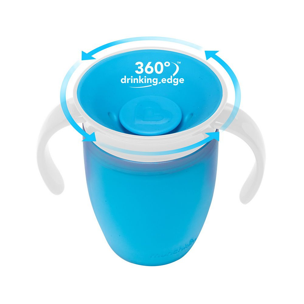 Copo Treinamento 360° Azul - Munchkin