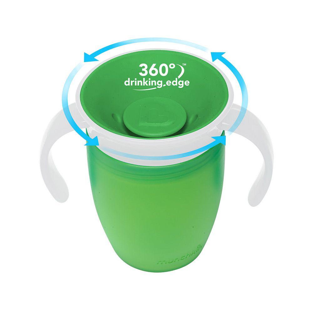Copo Treinamento 360° Verde - Munchkin
