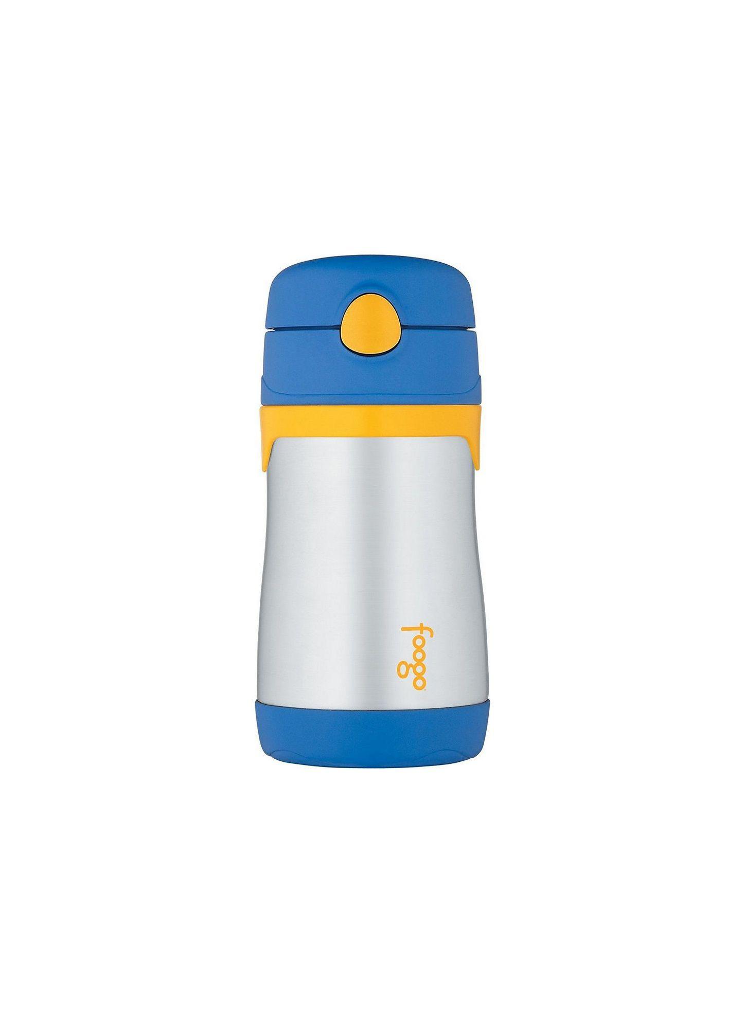 Garrafinha Térmica Foogo Azul / Amarela / Inox - Thermos