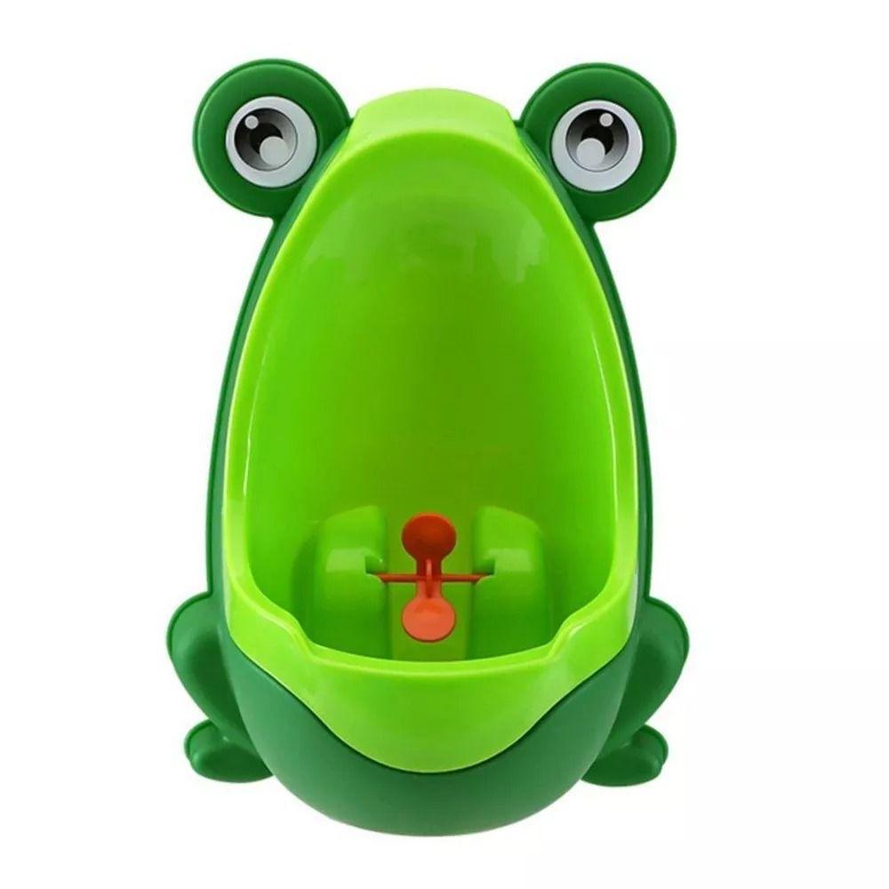 Mictório Infantil De Sapinho Verde Clingo 2505