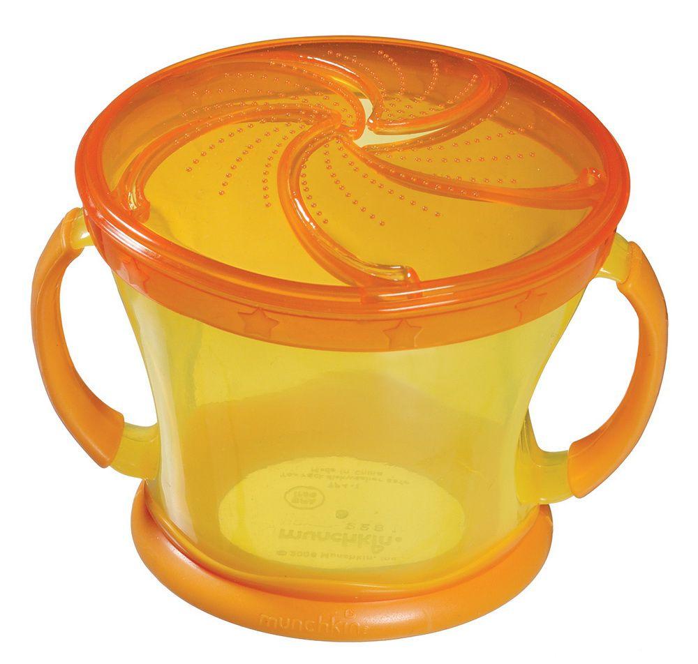 Porta Biscoitinhos Amarelo / Laranja - Munchkin