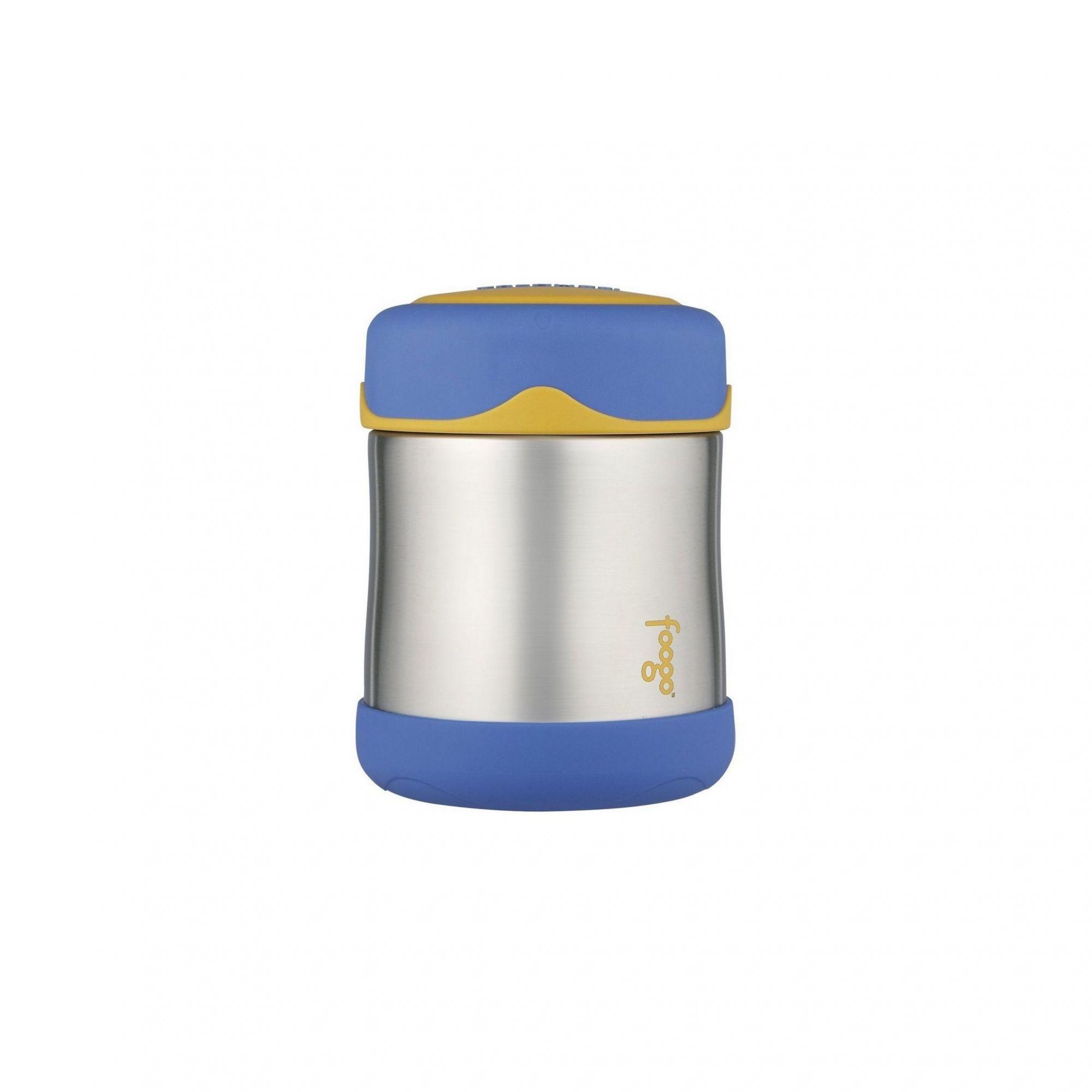 Pote Térmico Foogo Azul / Amarelo/ Inox - Thermos