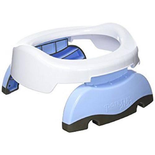 Potette Plus 2 em 1 - Assento de Treinamento e Privadinha Portátil Azul 7158