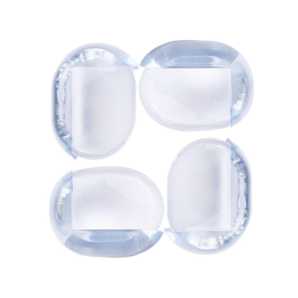 Protetor De Canto / Quina De Móveis Transparente 4 Unidades Comtac 4207