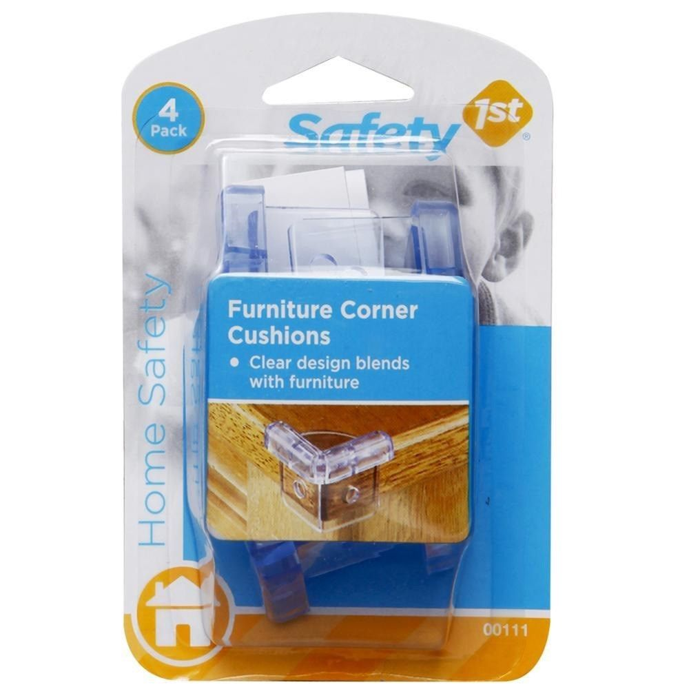 Protetor De Canto / Quina De Móveis Transparente 4 Unidades Safety 1st 48812