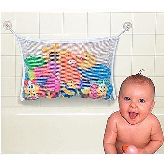 Sacola Para Brinquedos De Banho  Branca - Jolly Jumper