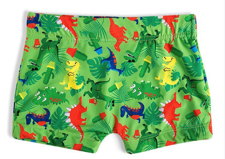 Shorts Praia Sungão Dinossauro Bebê Menino Infantil Verde FPS 50+ - Tip Top