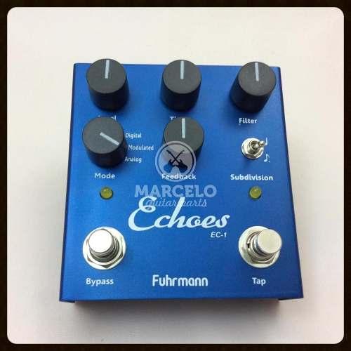 Pedal Echoes Fuhrmann Tap Delay Guitarra + Brindes!!!